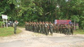 2. Pembagian tugas sebelum patroli