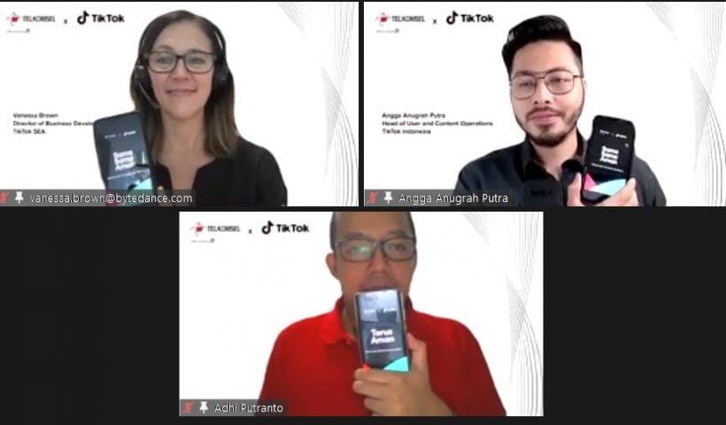 Dukung Kreativitas Masyarakat di Era Digital, TikTok dan Telkomsel Jalin Kemitraan Strategis